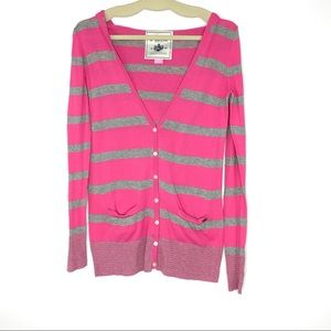 Victoria's Secret PINK Striped Sweater Size Medium